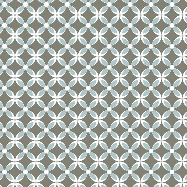 Trellis   Soft Blue Wall Mural   Contemporary   Wallpaper   by Murals 640x640