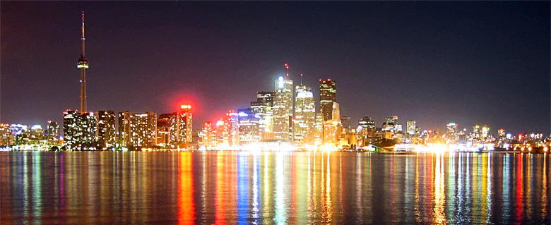 Toronto Nightlife Wallpaper Dimensions 780x319