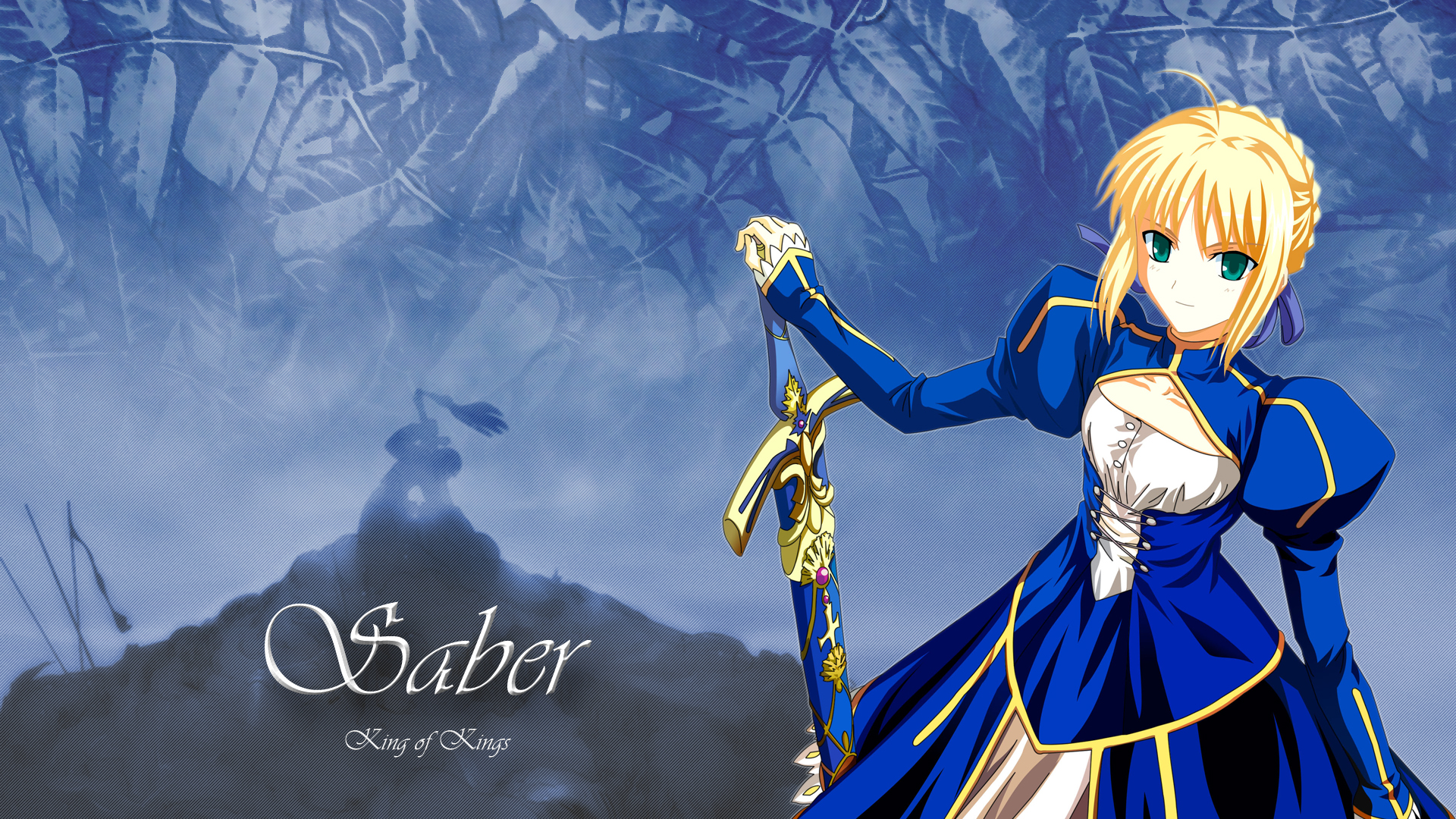 fatestay night saber konachancom   Konachancom Anime Wallpapers 1920x1080