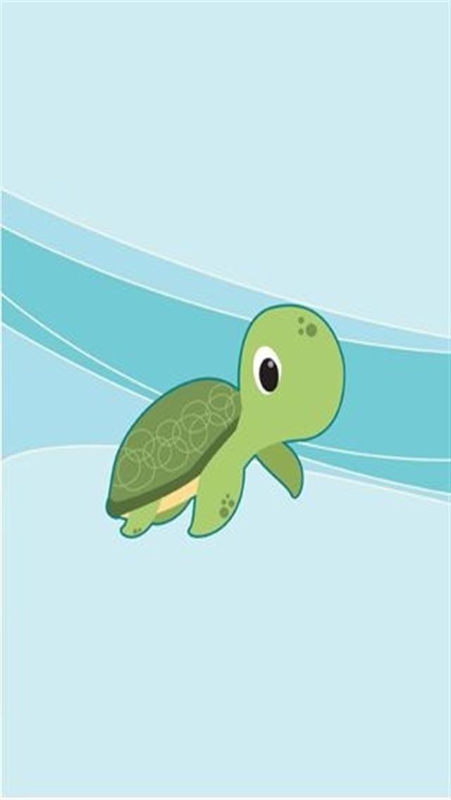 Cute Turtle Iphone Wallpaper Animal 746 iphone 5sc 640x1136