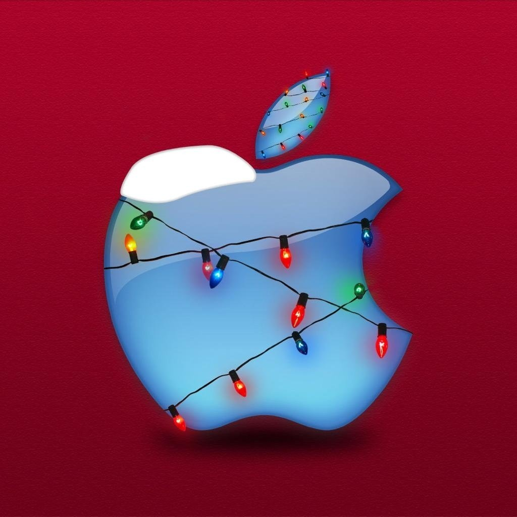 FREE Download 2011 Christmas iPad Wallpapers   PPT Garden 1024x1024