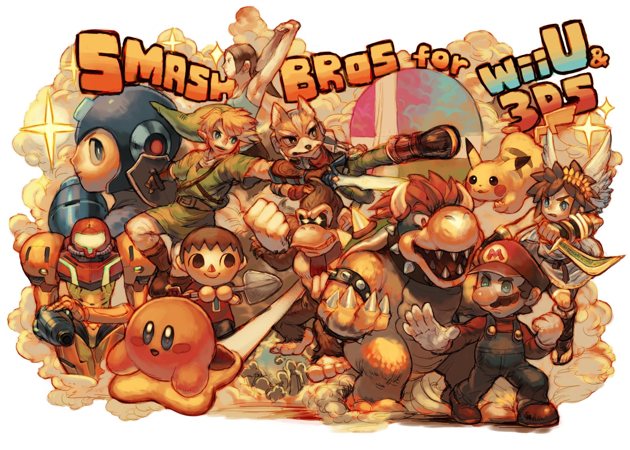 Smash Bros Mario Wallpaper Wallpapersafari