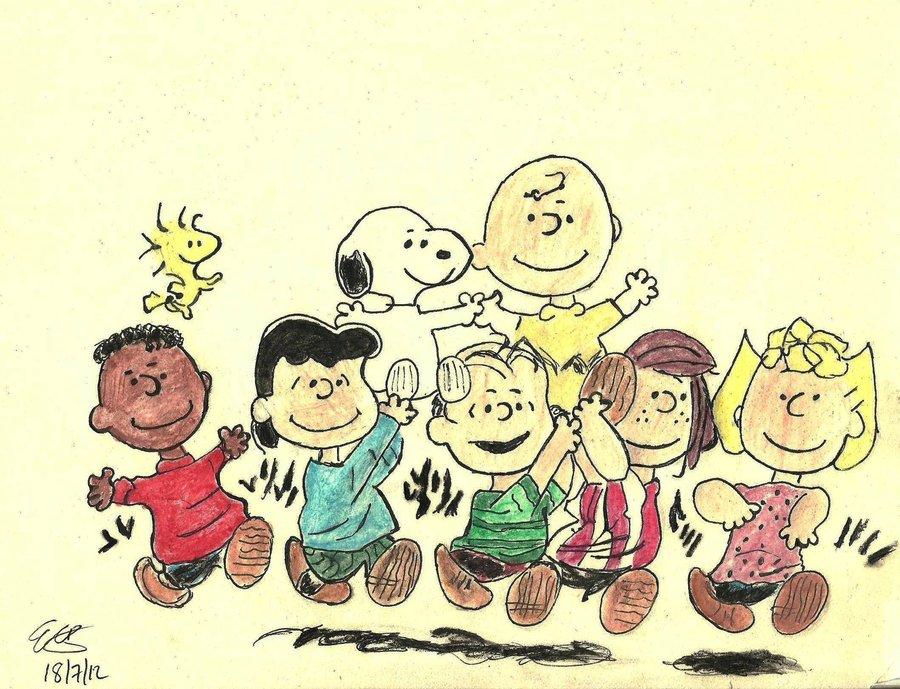 Peanuts Gang Wallpaper httpvamperindeviantartcomartPeanuts Gang 900x689