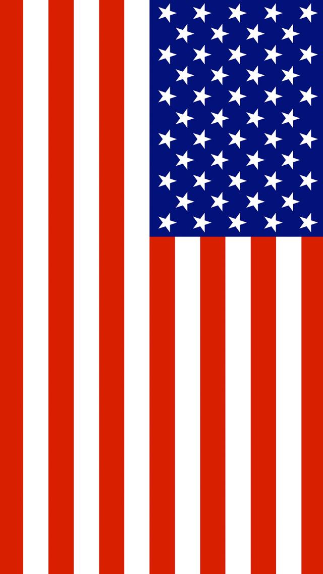 American Flag 640x1136