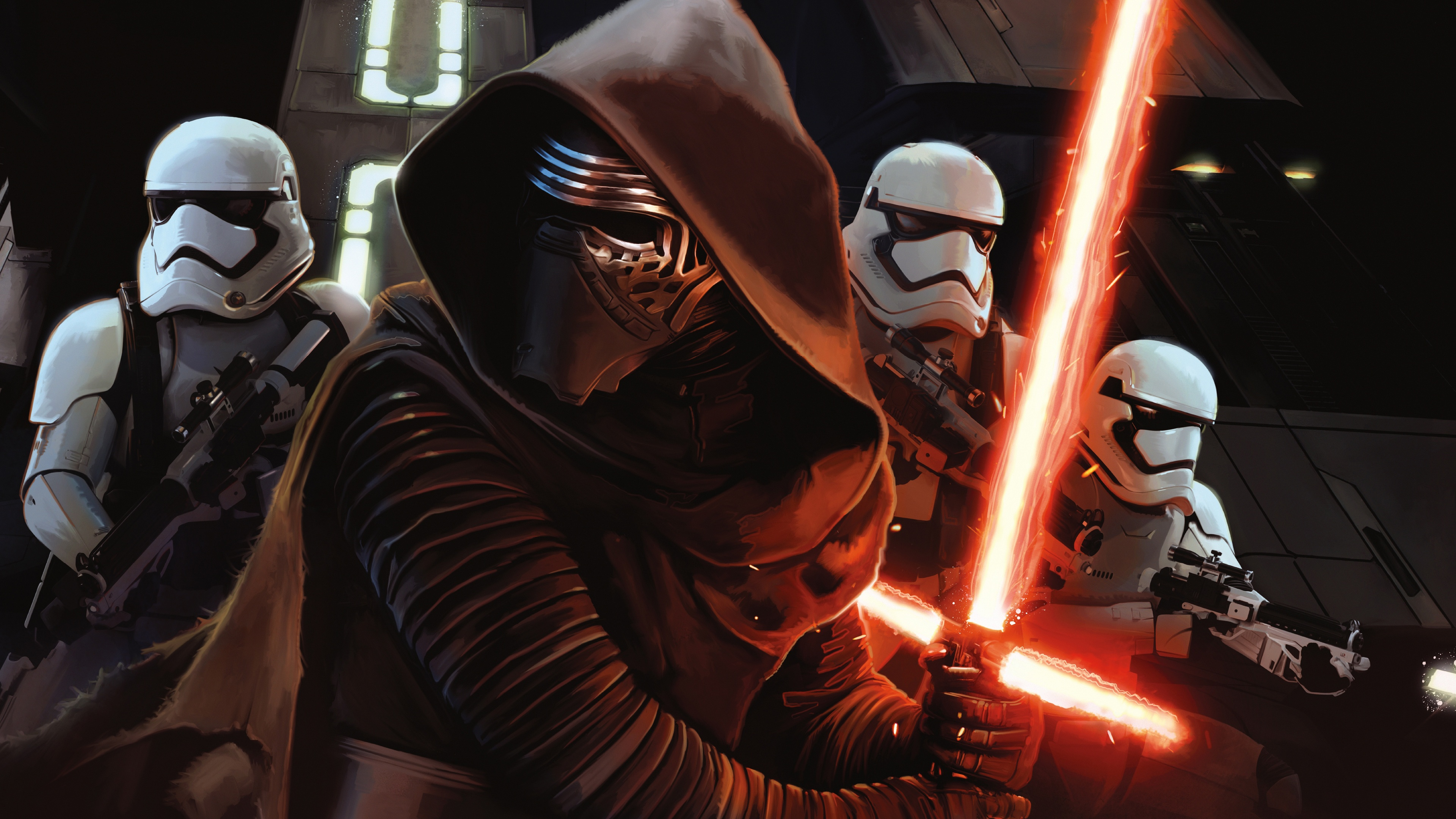 Star Wars Episode VII The Force Awakens Wallpapers HD Wallpapers 3840x2160