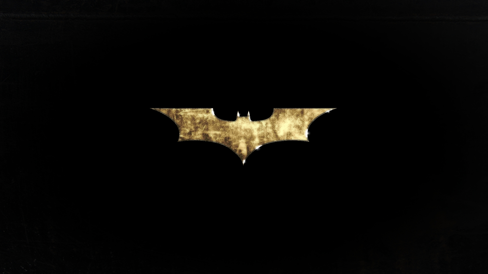 1920x1080 Grunge Batman Logo desktop PC and Mac wallpaper 1920x1080