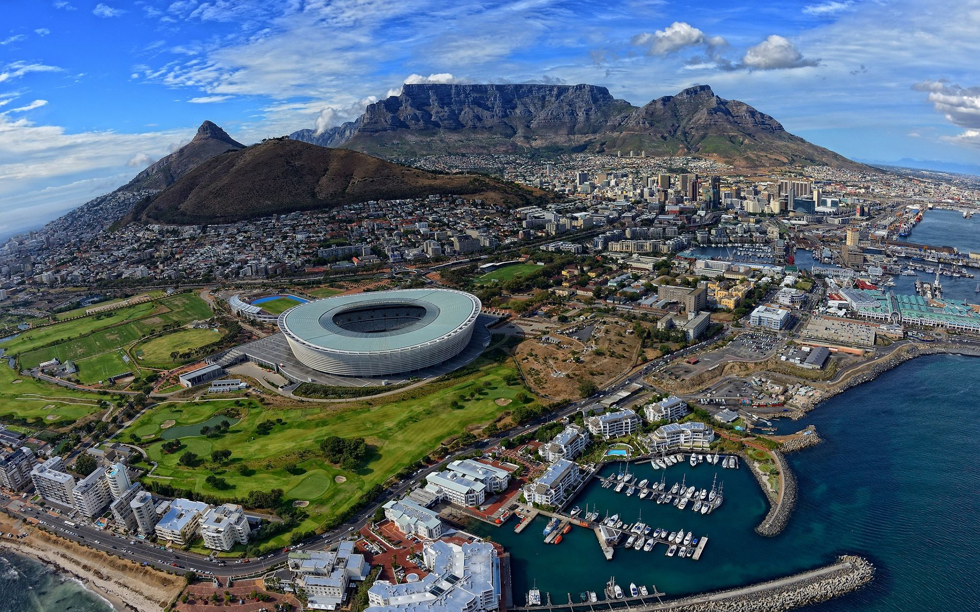 Cape Town South Africa wallpaper 17856 1920x1200