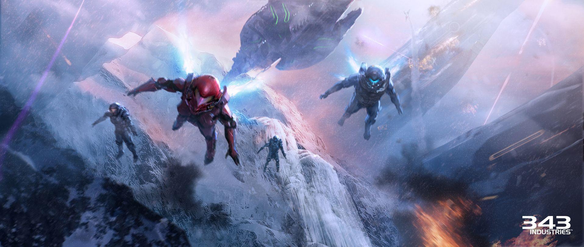 Halo 5 computer wallpaper wallpapersafari - Halo 5 guardians wallpaper 1920x1080 ...