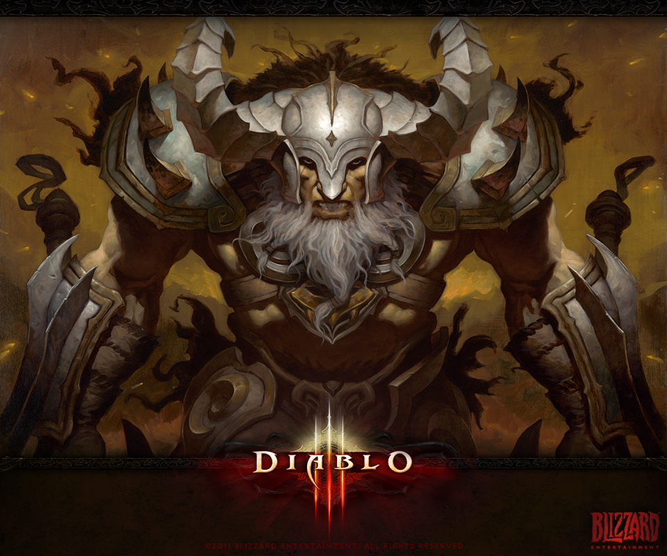 Diablo 3 Wallpaper 1920x1080: 960x800px Diablo 3 Barbarian Wallpaper