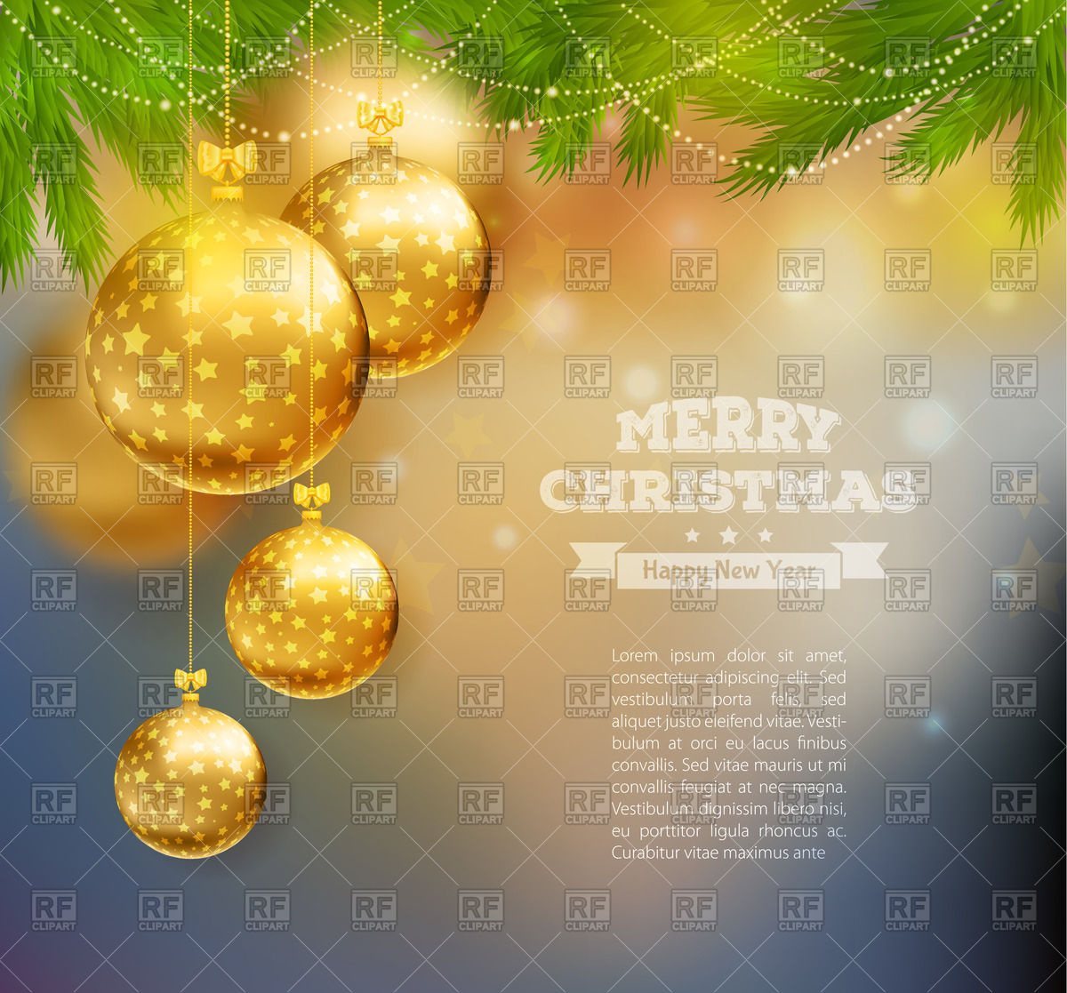 Template of festive blurry holiday background   greeting card with 1200x1117