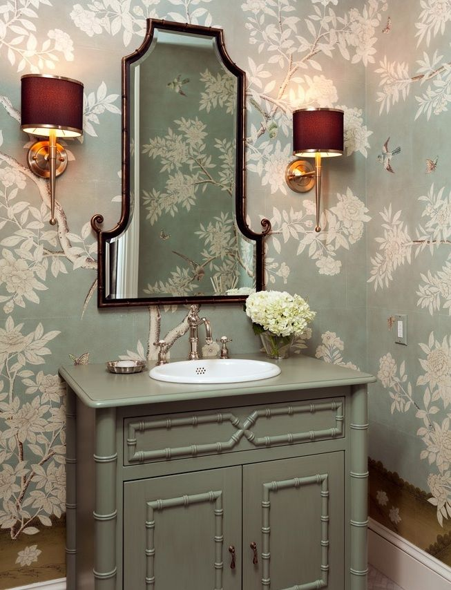 Hampton Garden Gracie Wallpaper by Jenny Wolf Interiors 653x854
