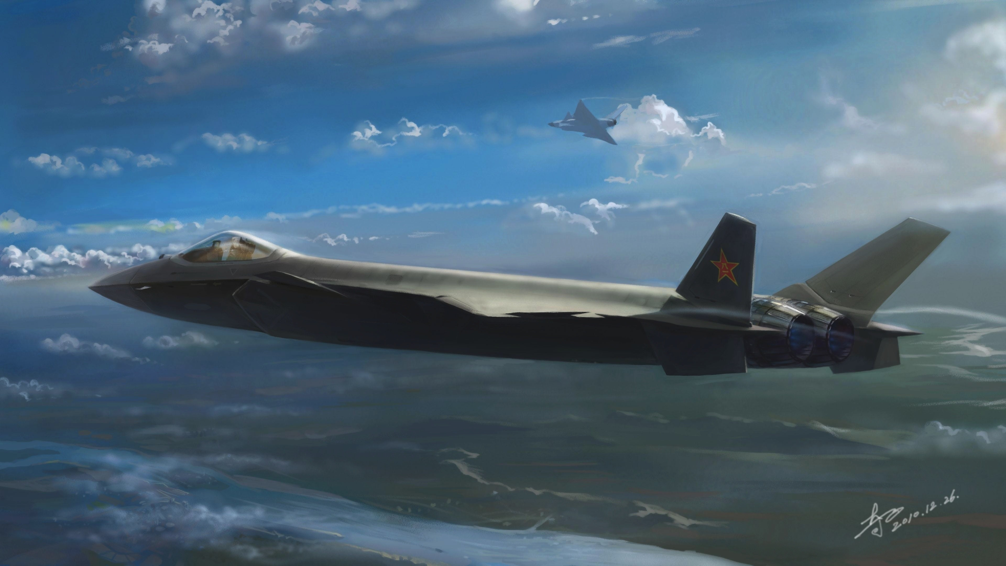 Stealth Aircraft Computer Wallpapers Desktop Backgrounds 3840x2160