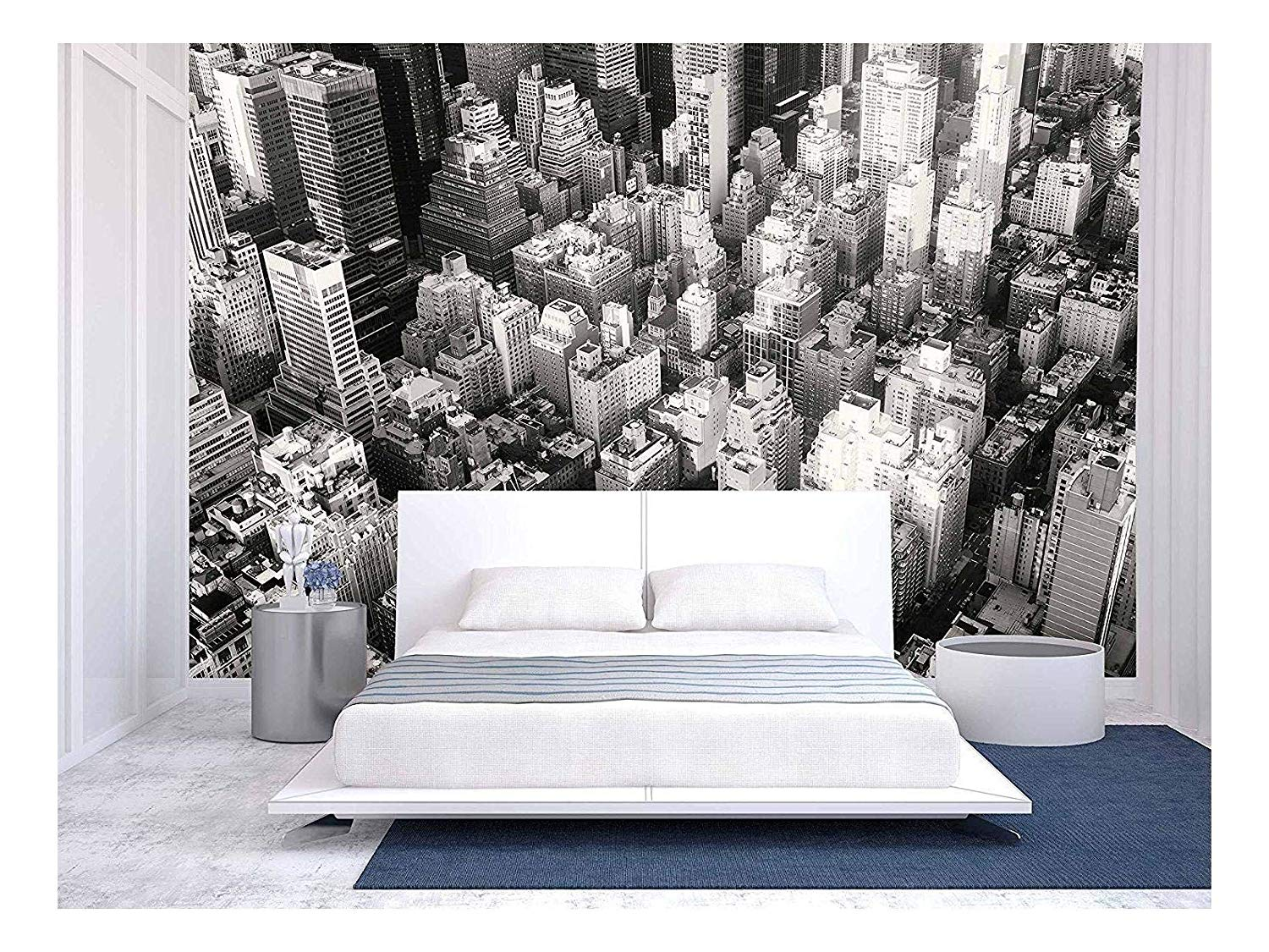 Amazoncom wall26   Black and White Urban Landscape of New York 1500x1125