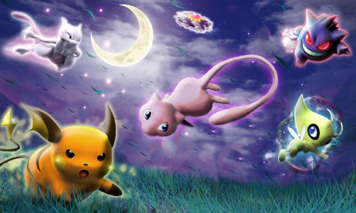 Legendary Pokemon Wallpaper Pokemon Wallpaper Legendary 1153x692