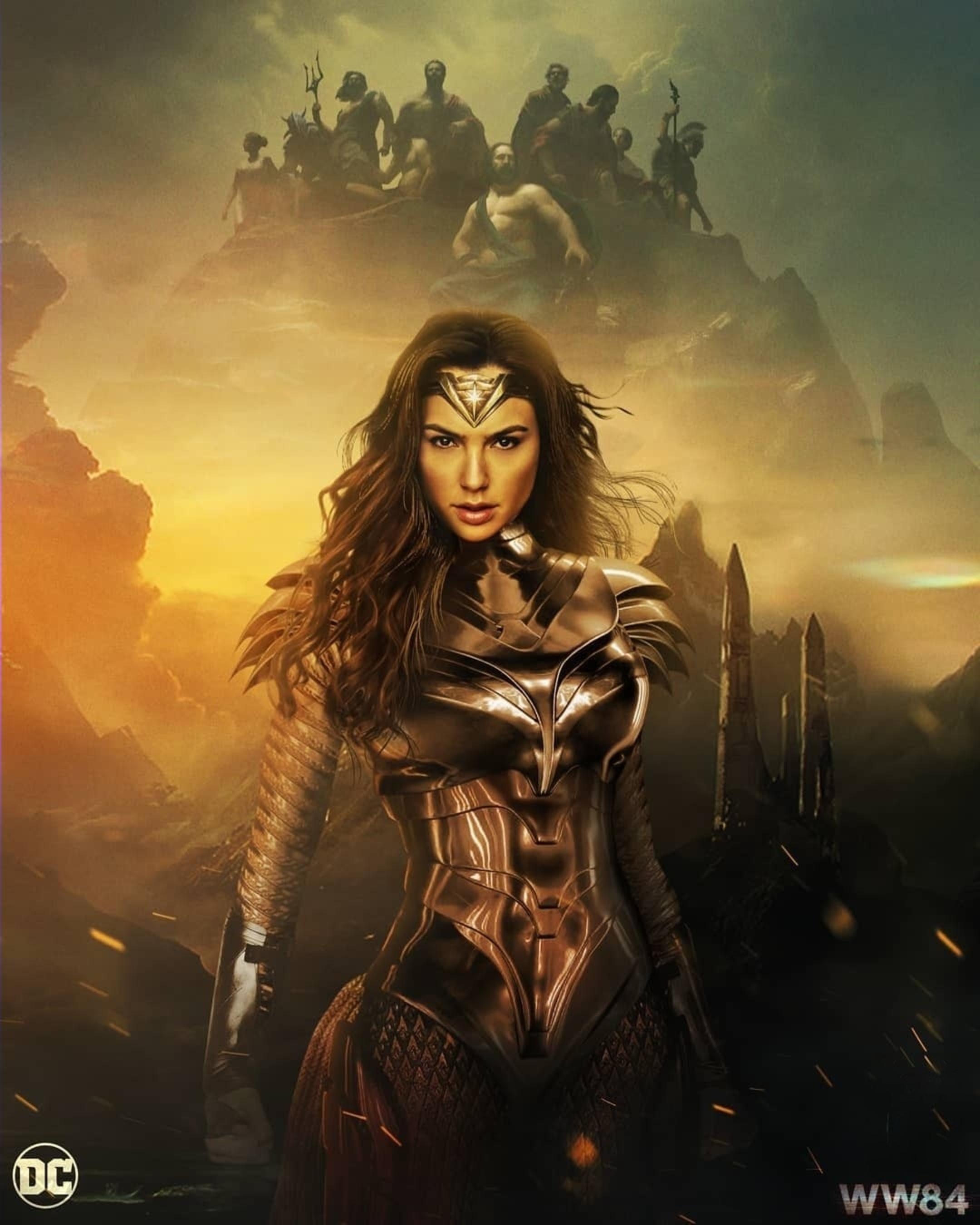 Wonder Woman 1984 2020 [2160 2700] by Ultraraw 26 Wonder woman 2160x2700
