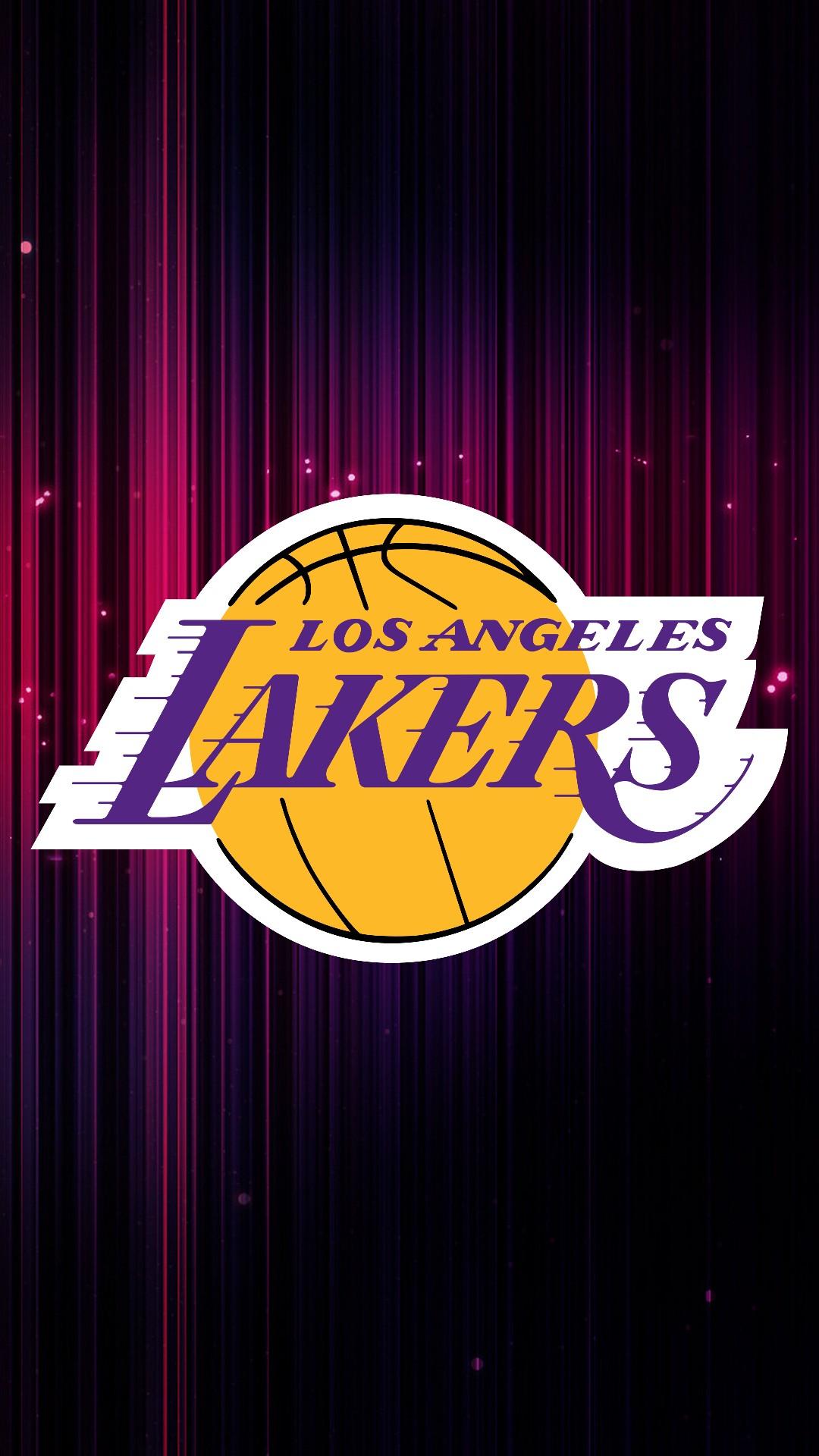 LA Lakers iPhone Home Screen Wallpaper   2020 NBA iPhone Wallpaper 1080x1920