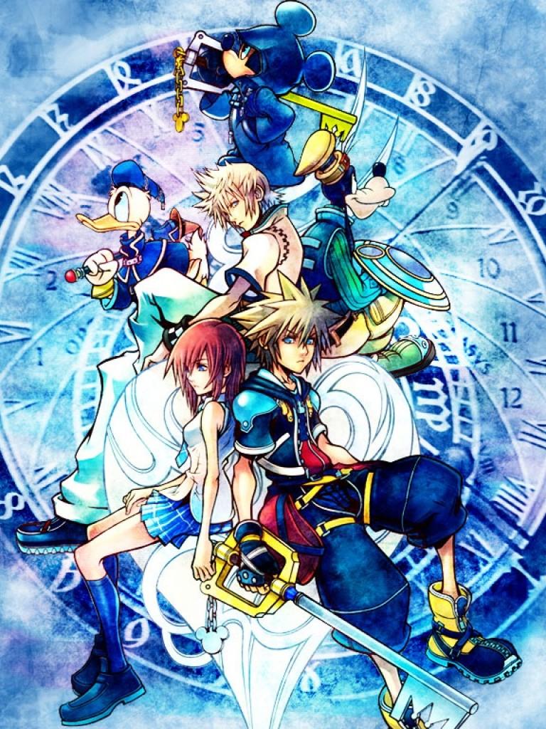 Kingdom Hearts Wallpaper iPhone  WallpaperSafari