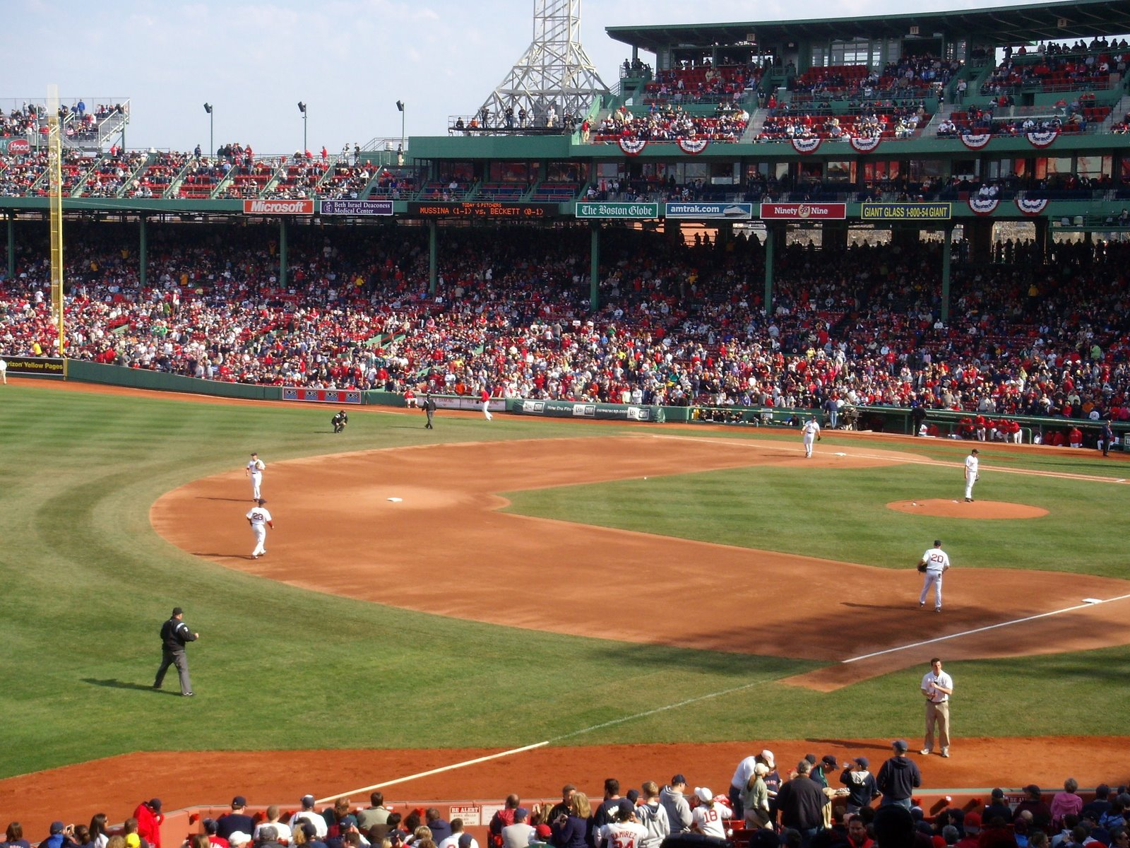 Fenway Park Backgrounds 1600x1200
