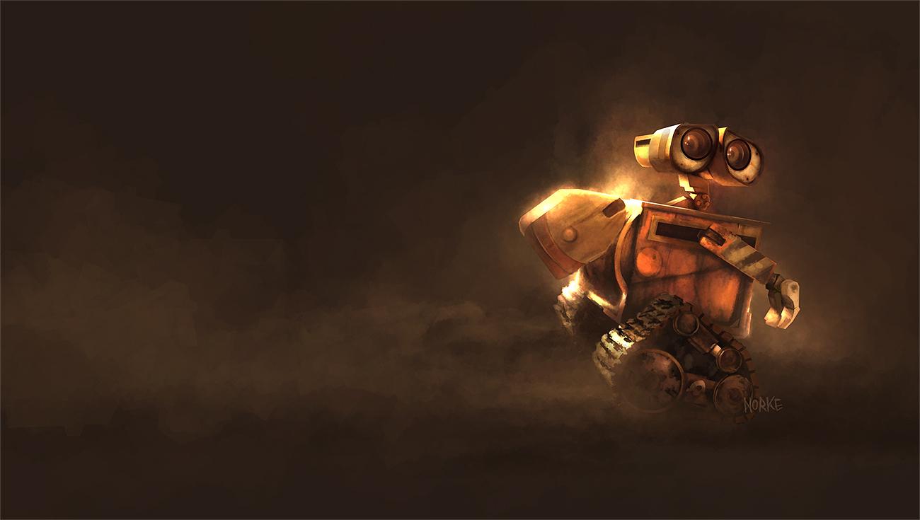 Uhowto Wall   E Pixar   Desktop Wallpaper Background 1300x735