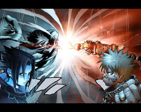 Naruto vs Sasuke Wallpaper Immagini Gallery 600x480