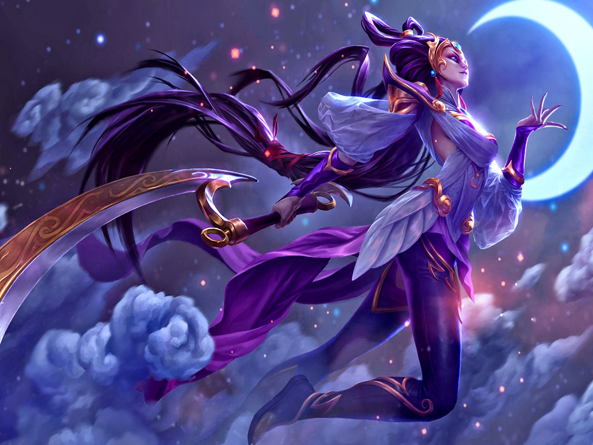 diana league of legends wallpaper hd background 11 1920x1440