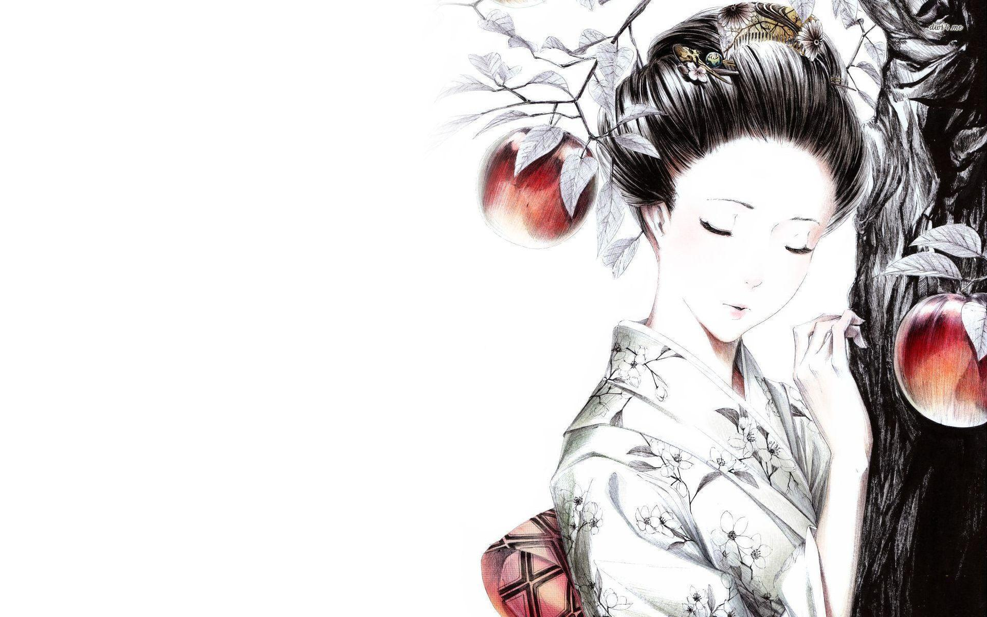 Geisha Wallpapers 1920x1200