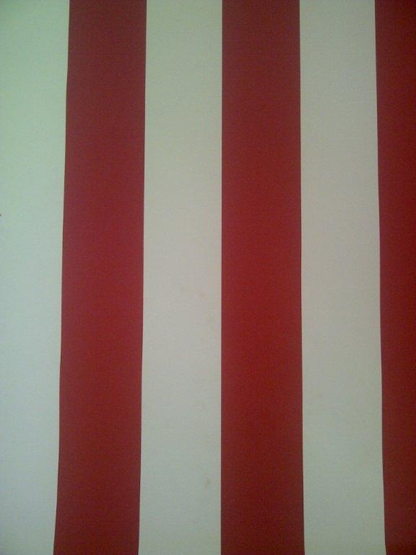 wp139 wallpaper red and off white stripe high quality striped vinyl 600x800