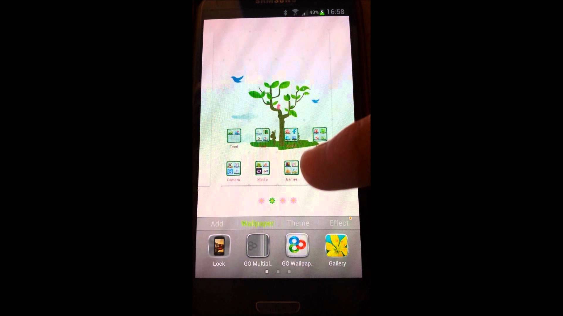 tutorial set up android video live wallpaper youtube