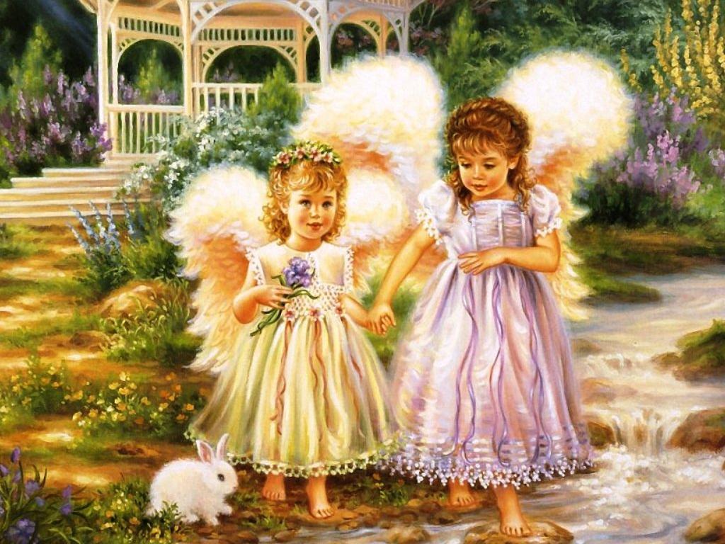 Wallpaper of Roses and Angels WallpaperSafari