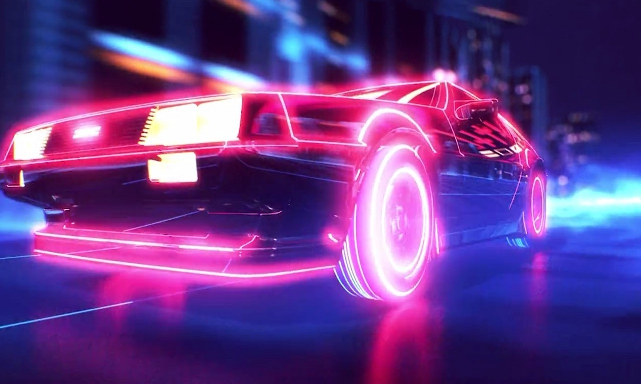 Synthwave Wallpaper Wallpapersafari