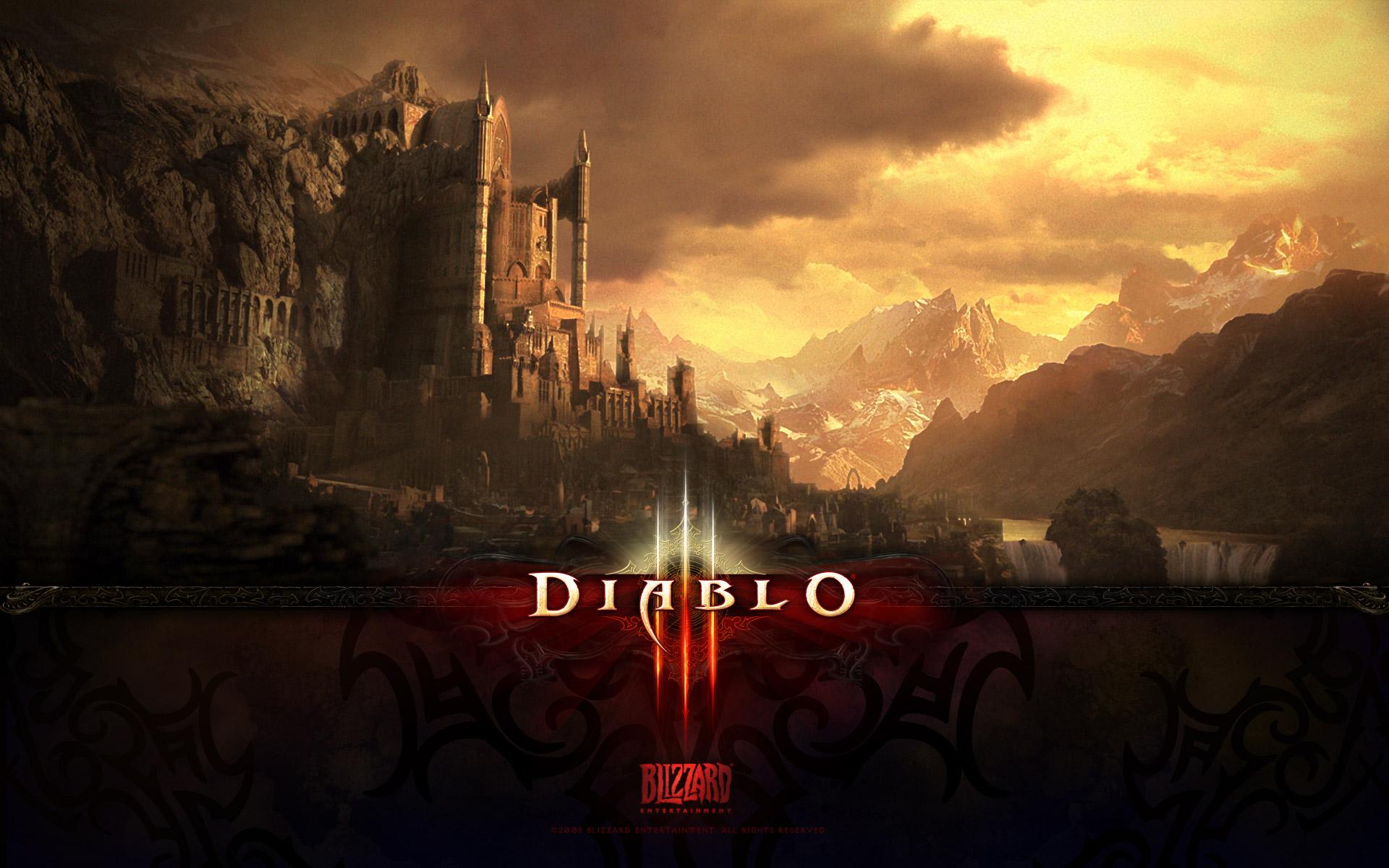 Diablo 3net Diablo 3 Wallpapers 1920x1200