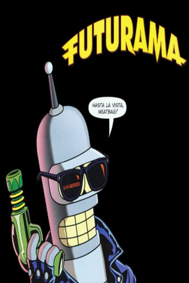 futurama iphone wallpaper wallpapersafari
