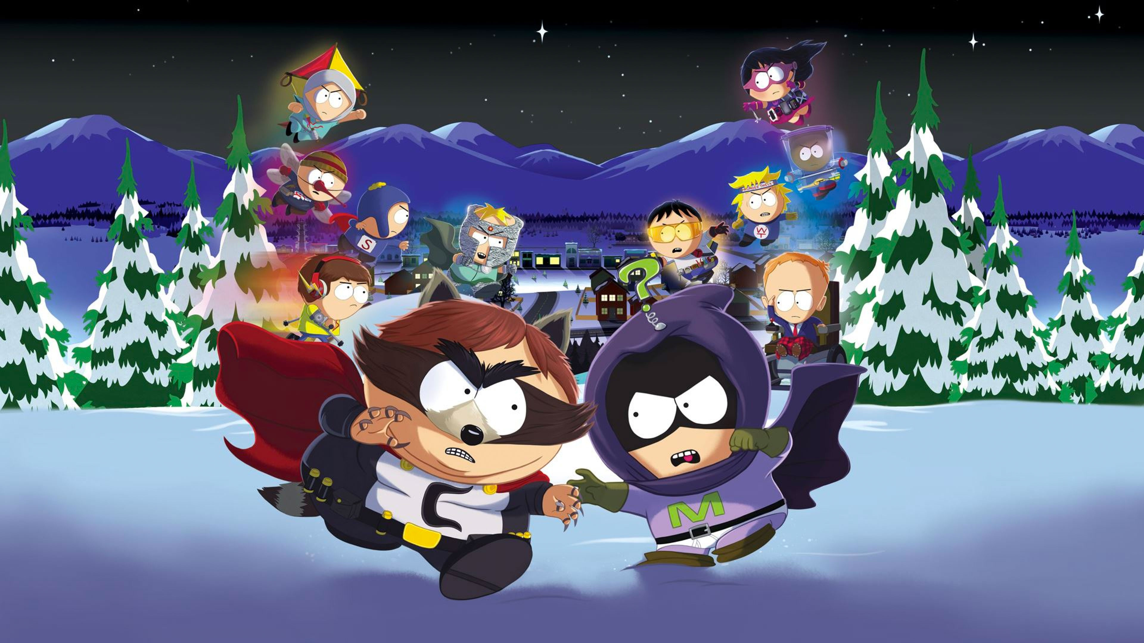 South Park The Fractured But Whole Wallpapers in Ultra HD 4K 3840x2160