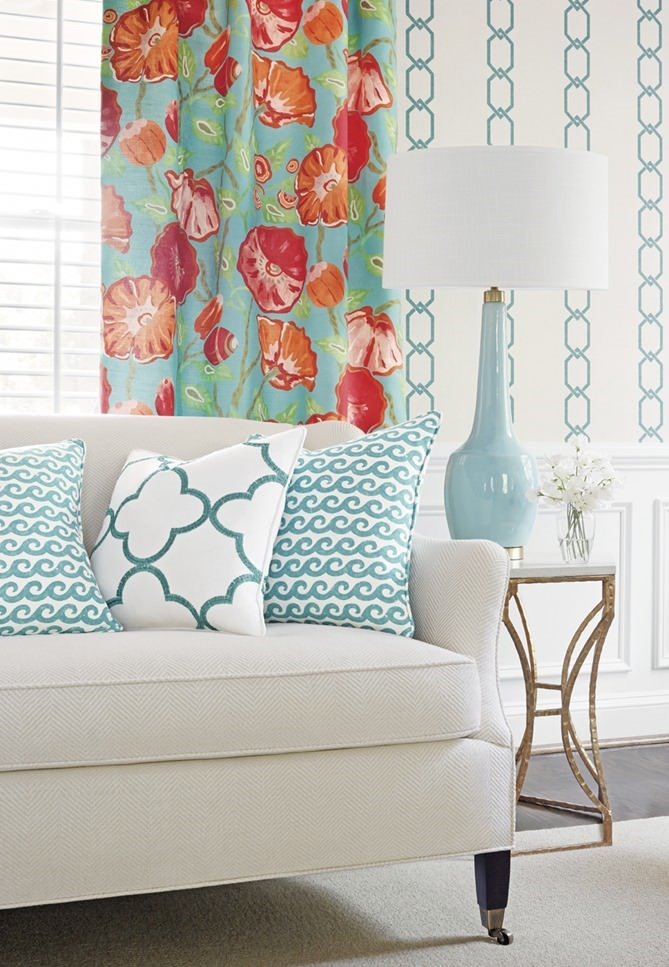 Thibauts Resort Collection Fresh Vibrant Colorful Decorative Fabric 669x967