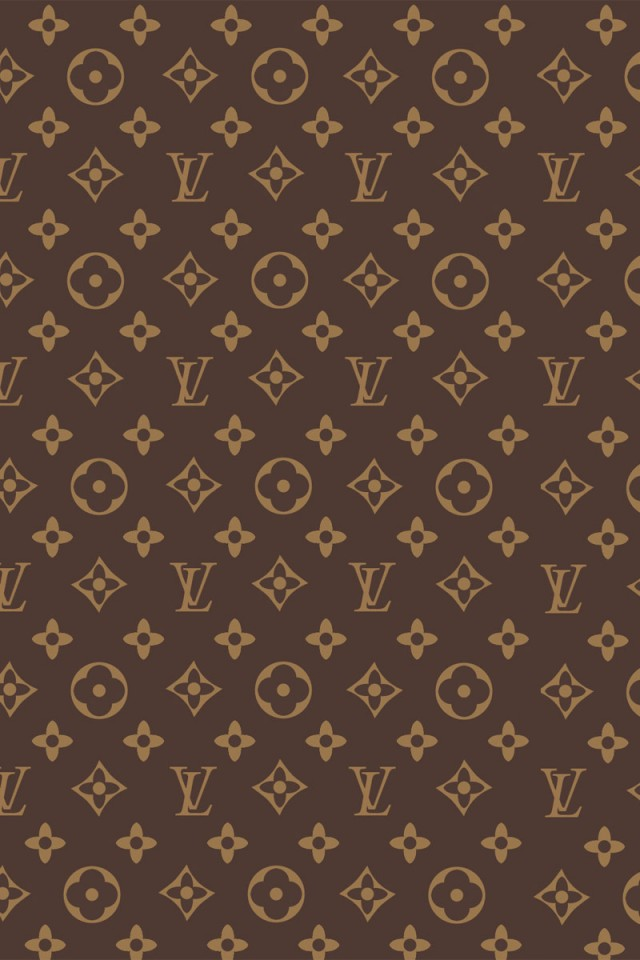 Louis Vuitton Print iPhone 4s Wallpaper Download iPhone Wallpapers 640x960