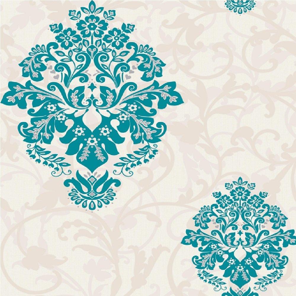 Home Wallpaper CWV CWV Crown Arabesque Wallpaper M0548 1000x1000