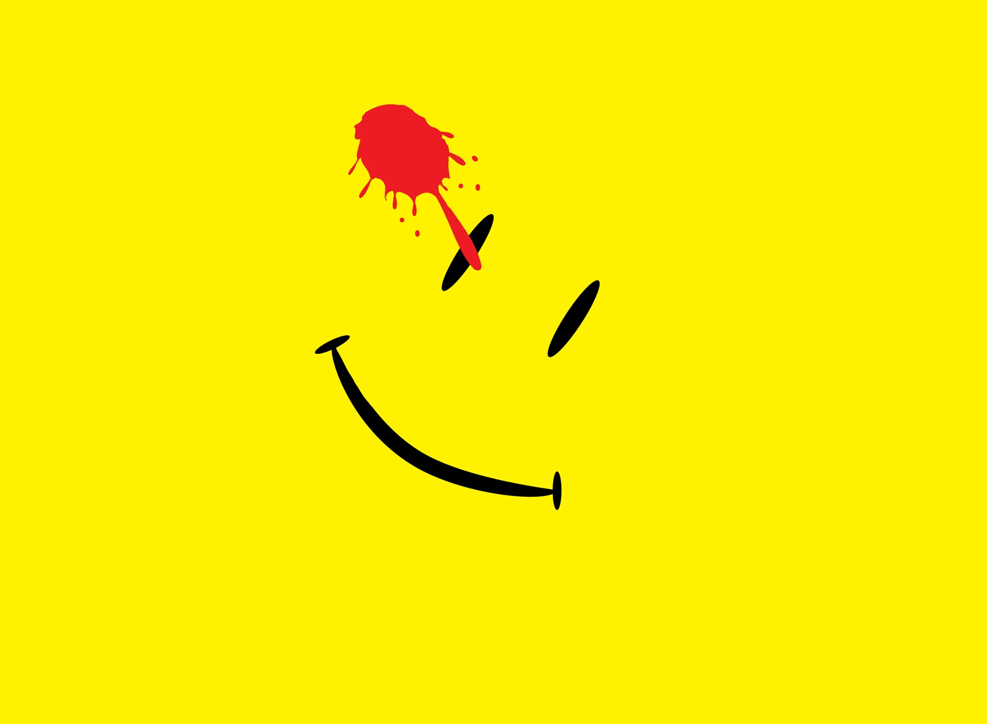 image Watchmen Smiley Face PC Android iPhone and iPad Wallpapers 1920x1408