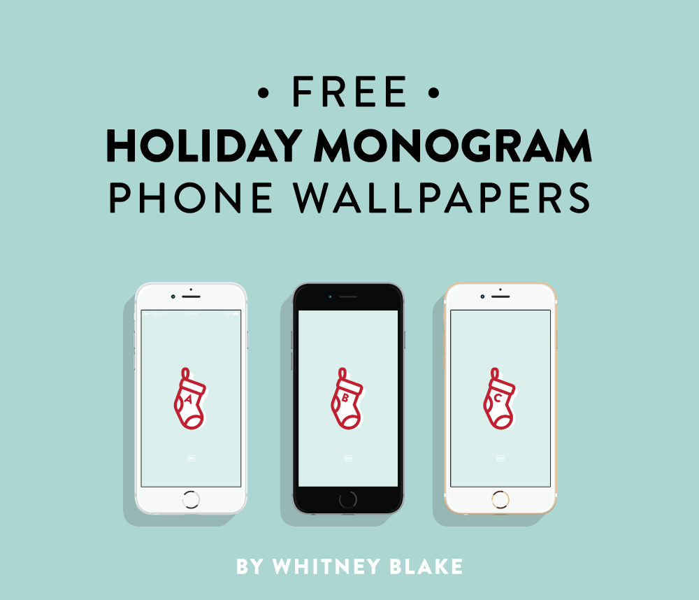 Phone Wallpaper Monogram: Free Monogram Phone Wallpaper