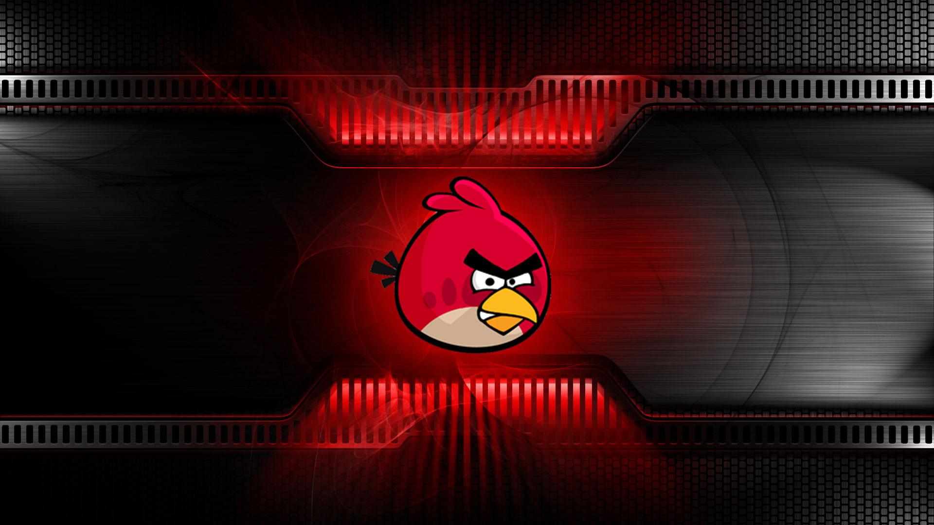 Stunning Angry Birds Wallpaper CrackModo 1920x1080