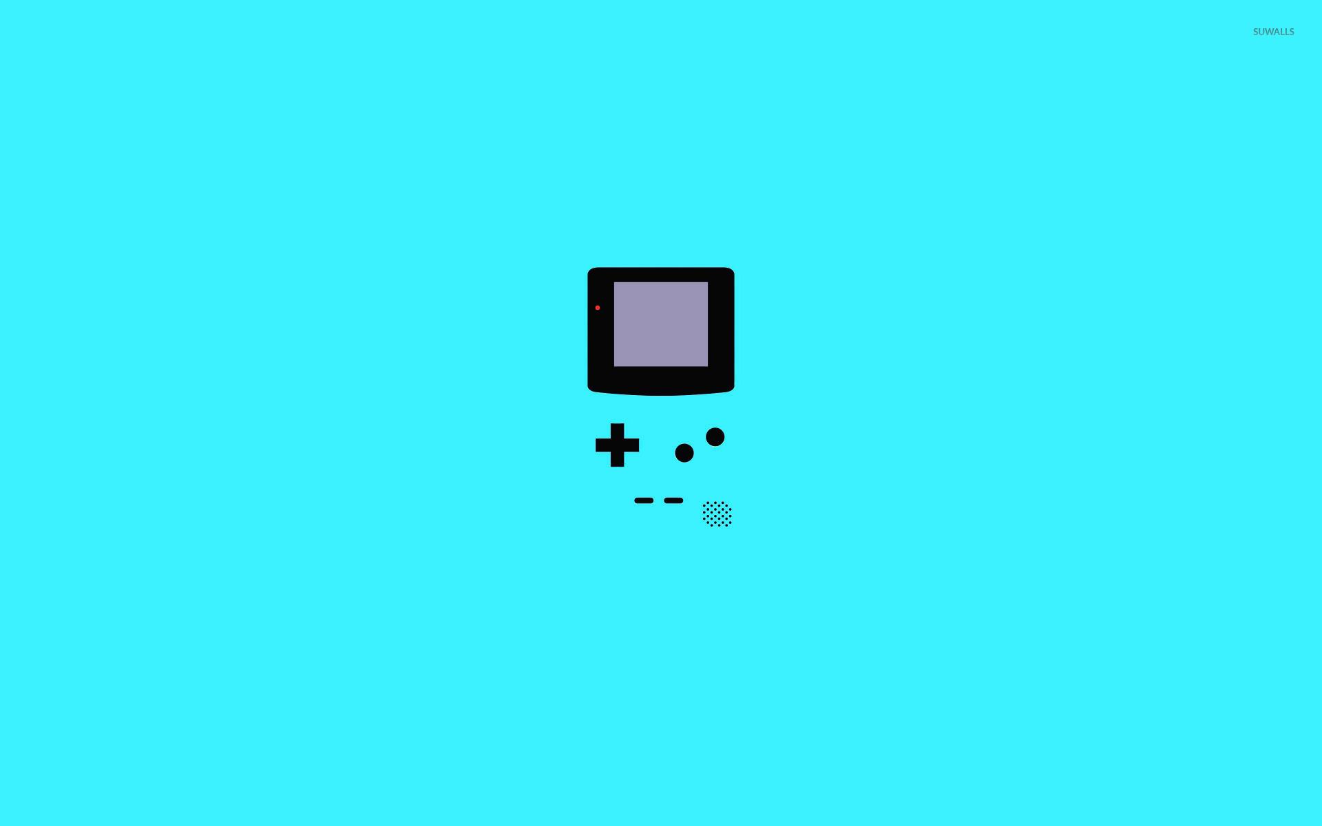 Nintendo Game Boy wallpaper   Minimalistic wallpapers   15966 1920x1200
