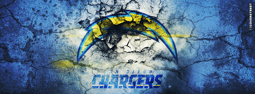 San Diego Chargers Metal Logo San Diego Chargers Grunged Logo 851x315