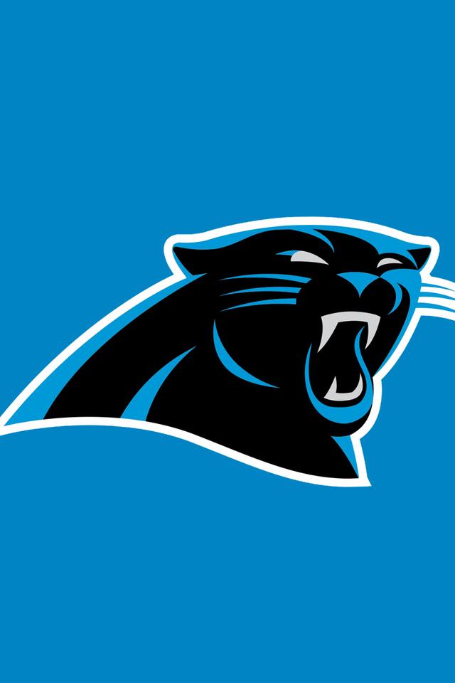 Carolina Panthers Blue Wallpaper for iPhone 4 640x960