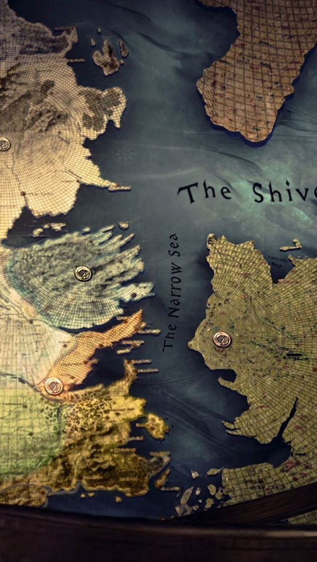 Westeros map iPhone 5s Wallpaper Download iPhone Wallpapers iPad 640x1136