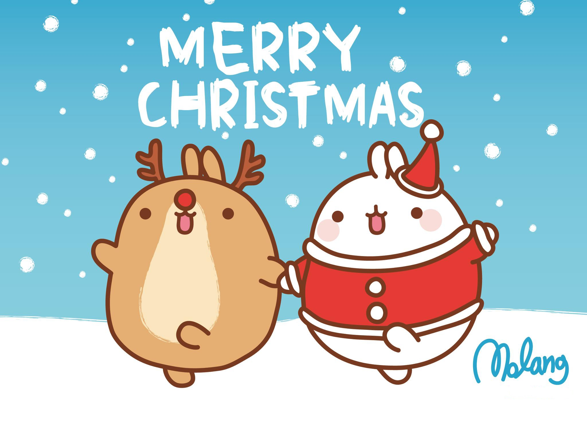 Download Cute Christmas Wallpapers 2048x1468