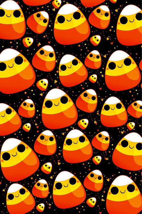 Resultado de imagen para kawaii halloween wallpaper