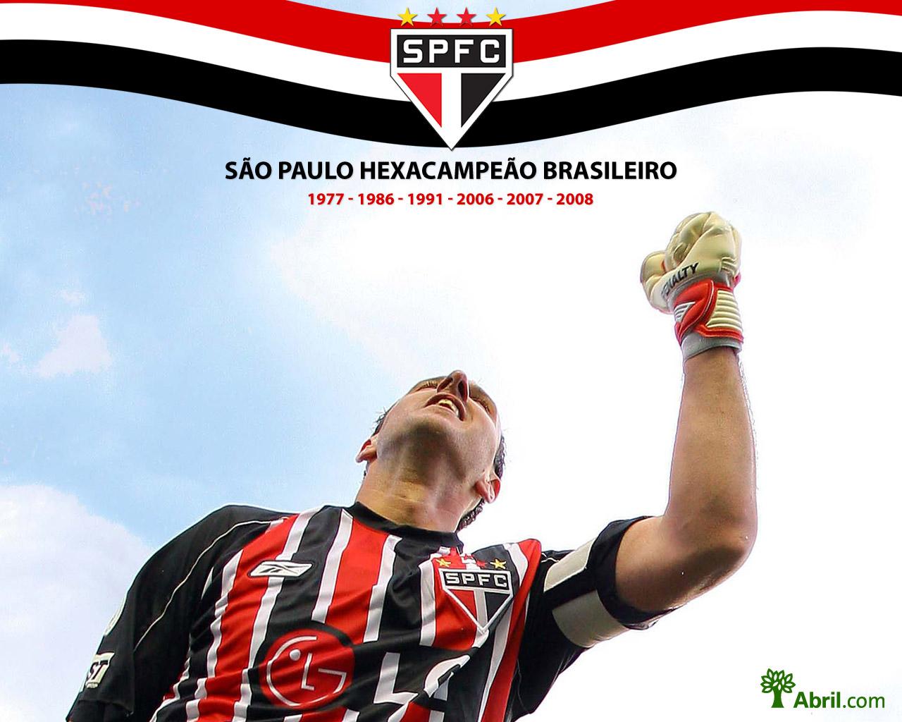 Paulo hexacampeo brasileiro   baixe wallpapers do ttulo tricolor 1280x1024
