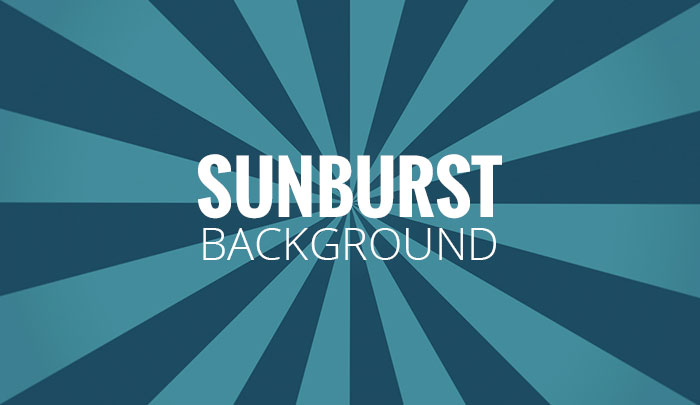 How to Create Sunburst Background in Photoshop   Super Dev Resources 700x405