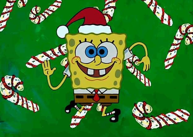 Spongebob Christmas Wallpaper Wallpapersafari