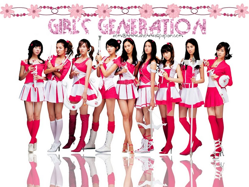 SparKyu Whirlwinds Wallpaper Girls Generation SNSD Maple Story 820x615