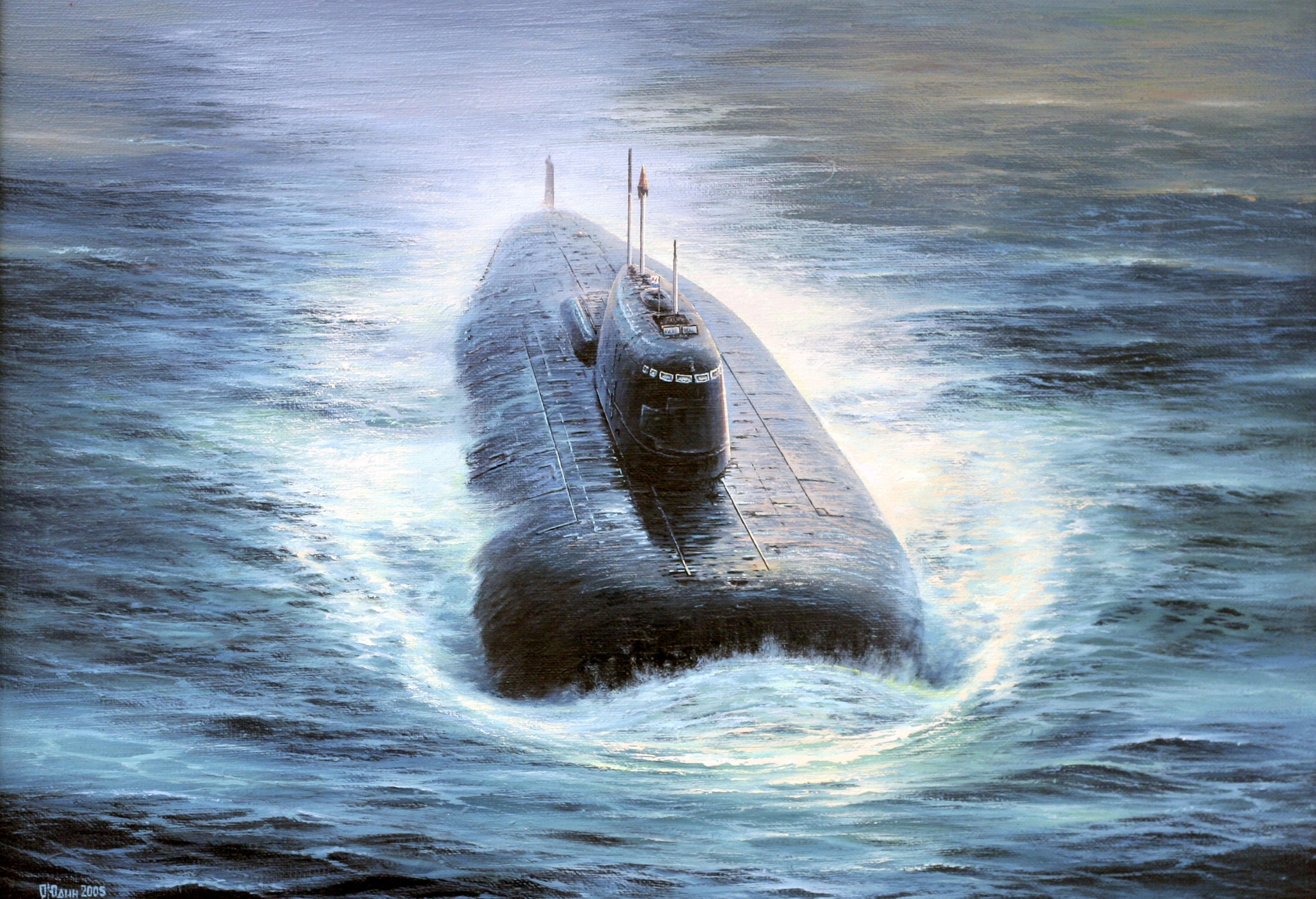 nuclear russian submarine 4843x3307 wallpaper Wallpaper 4843x3307